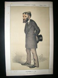 Vanity Fair Print: 1873 George Otto Travelyan